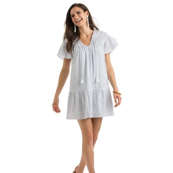 Vineyard Vines Dresses & Skirts - Vineyard Vines Pintucked stripe dress